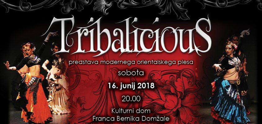 TRIBALICIOUS – performance of modern oriental dance 2018