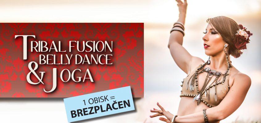 TRIBAL FUSION BELLY DANCE & JOGA September 2018