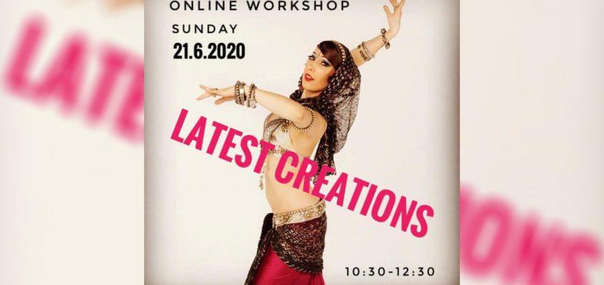 LATEST CREATIONS online workshop with Manca Pavli